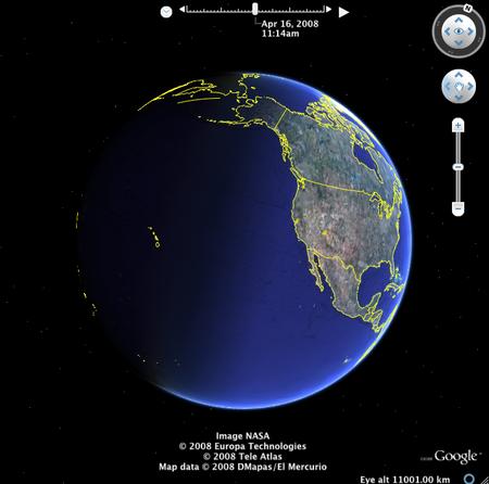 google earth  4.3