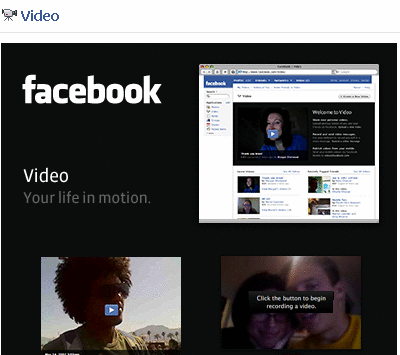 Facebook Video (Default App) ? Share videos of presentations, product demos, ...