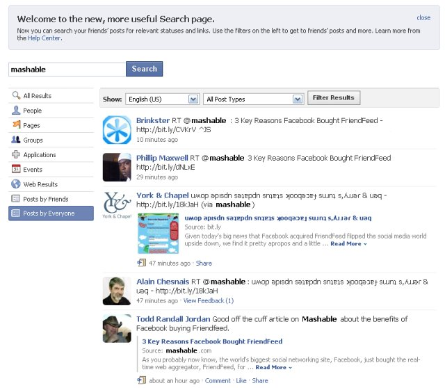 Facebook Search Engine People