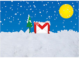 Tis the Season For Free Gmail Holiday Postcards