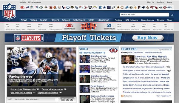 nfl playoffs schedule  2010 tv