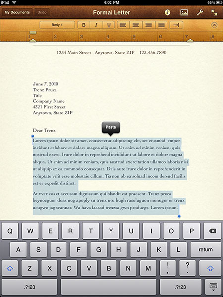 Pages For Ipad. iPad apps you must have,