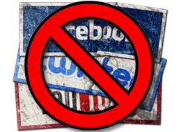 Social Media prohibited