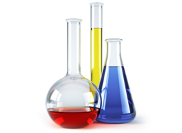 Science Beakers Image