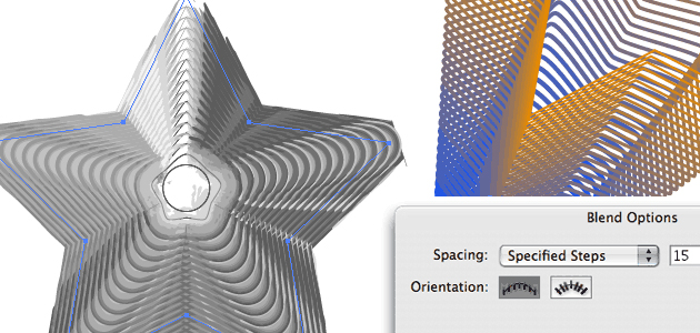 12 Beginner Tutorials for Getting Started with Adobe Illustrator 03_blend_tool