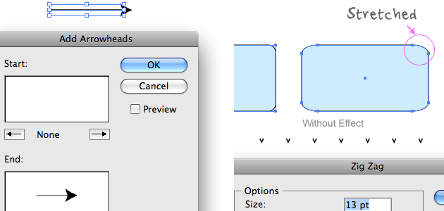12 Beginner Tutorials for Getting Started with Adobe Illustrator 07_effects