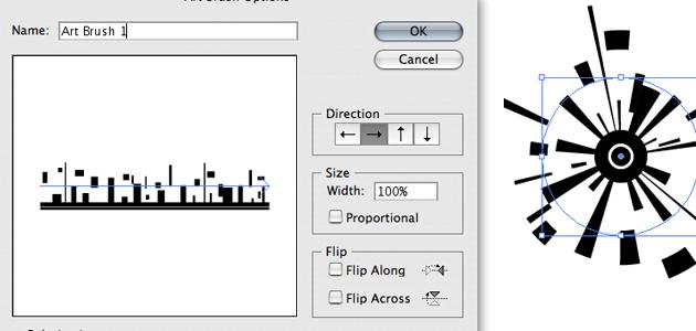 12 Beginner Tutorials for Getting Started with Adobe Illustrator 12_artbrush