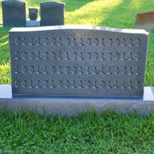 Digital Gravestone Image