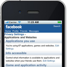 Facebook Mobile Privacy