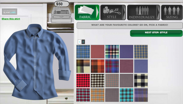Make your own clothes online