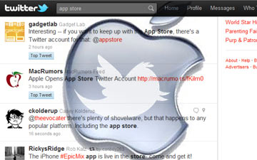 Apple Brings the App Store to Twitter - Toronto Colocation
