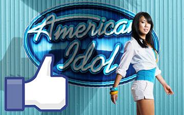 Vote American Idol via Facebook