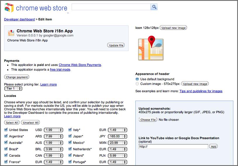 Chrome Web Store Google
