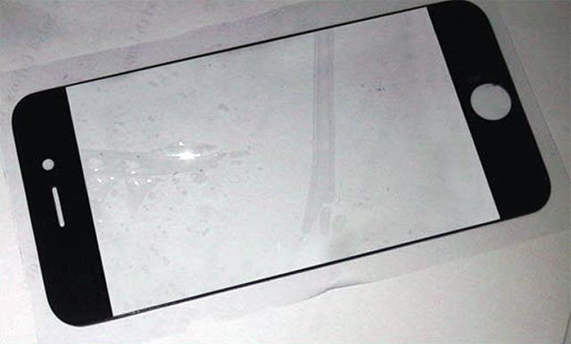 유출된 iPhone 5 패널