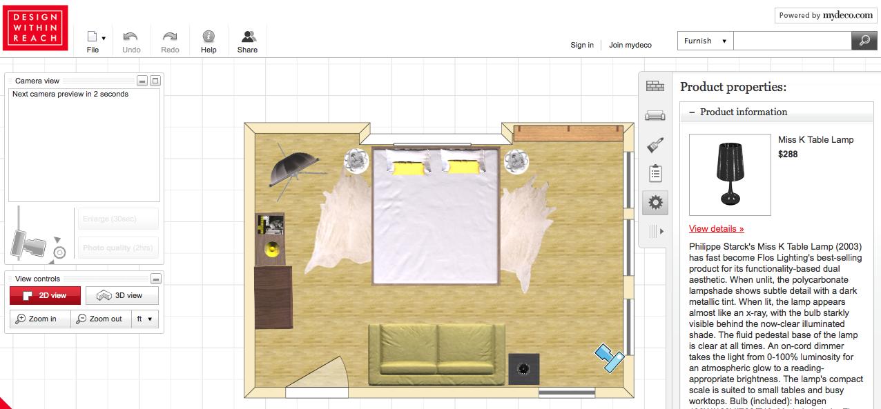 Программа для изготовления кровати