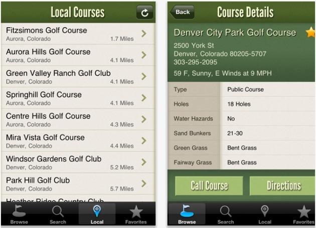8 Mobile Golf Apps