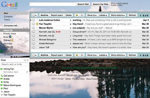 Теперь вы можете сами выбрать изображение в качестве фона в gmail