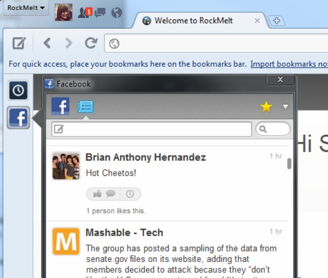 Facebook выпустил свой собственный браузер - «Интернет»