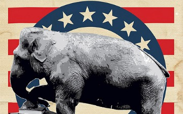republican elephant image