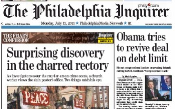 Philadelphia Inquirer news on Android tablets