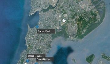 Mumbai Blasts Map