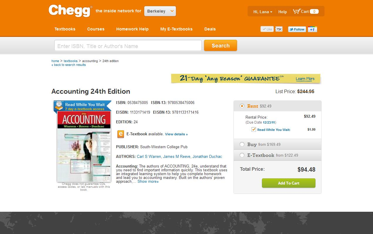 Chegg coupon discount code