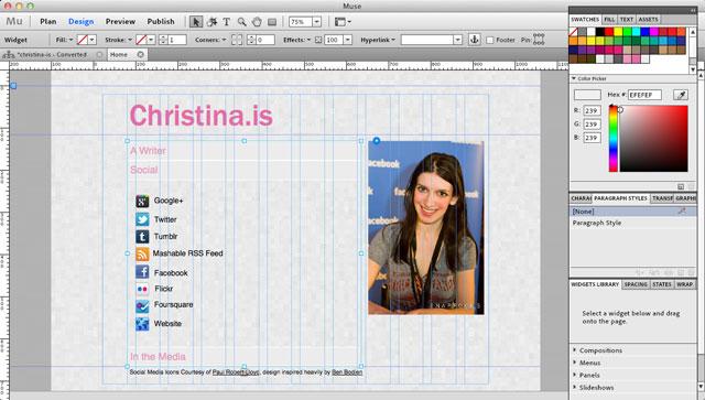 Nuevo Adobe Muse! Crea Sitios Web html 5 en 30 min!