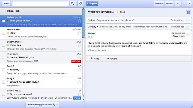 Google запускает оффлайн-версии Gmail, Calendar и Docs   Mashable ... 229e35695f5