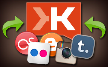 Klout Adds Blogger, Flickr, Instagram, Last.fm and Tumblr