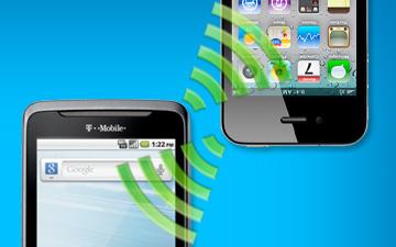 NFC Transmit Image