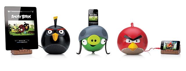 allspeakers Angry Birds Speaker Docks Coming Soon for iPhone, iPad