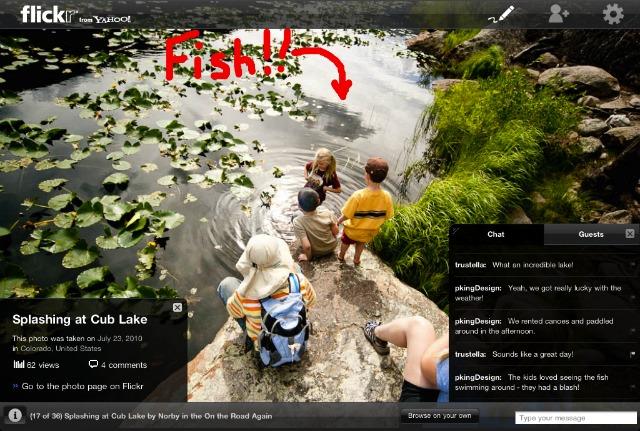 Flickr: Δείτε τις φωτογραφίες σας παρέα με τους φίλους σας σε i-pad, i-phone ή desktop