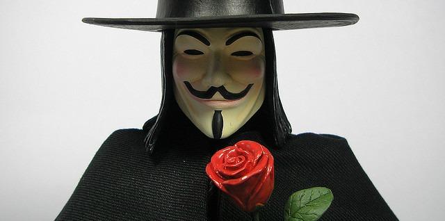 Novas atividade do grupo Anonymous