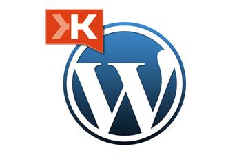 Klout Adds WordPress