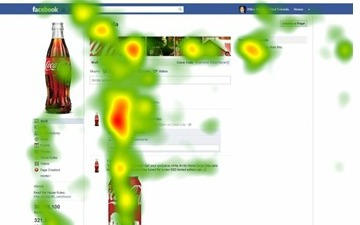 Facebook eye movement tracking