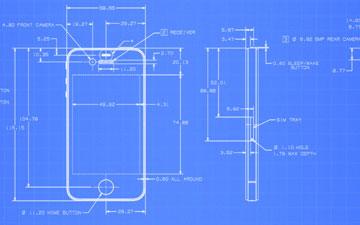 iPhone blueprint