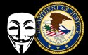 Anonymous Attacks Justice Dept as FBI Shuts Down File-Sharing Site
