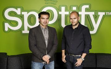 Spotify Founders Daniel Ek and Martin Lorentzon