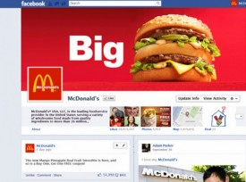Big mac1 275x204 How to Prepare for Facebook Timeline for Brand Pages