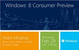 Windows 8 Consumer Preview Invite