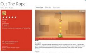Cut the Rope in Windows 8