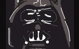 A Darth Vader Draw Something doodle drawn by a Mashable reader.