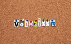Volunteer Pinboard