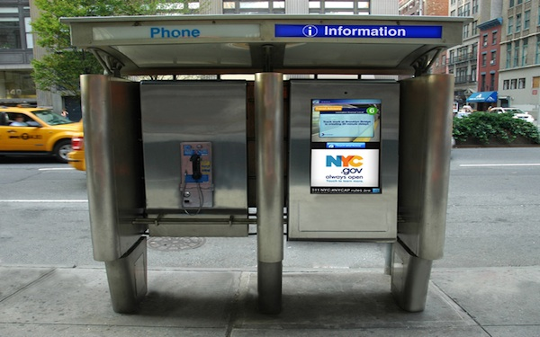 NYC touchscreen directories