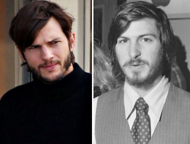 Ashton Kutcher Gets Steve Jobs Makeover