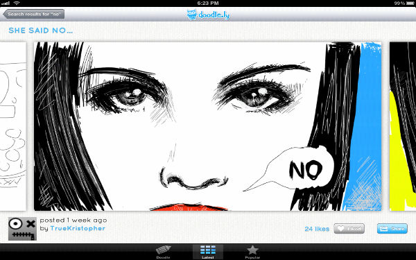 Face Doodle from Doodle.ly