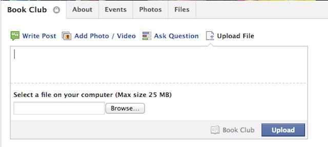 Facebook Groups Facebook lancia la condivisione dei file per tutti i gruppi