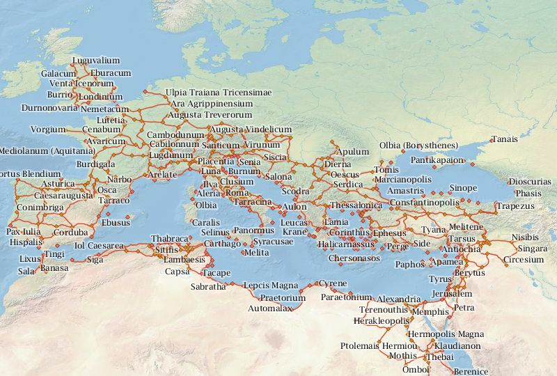 Google maps for the ancient world this is a seriously cool tool google maps for the ancient world this is a seriously cool tool that had bee gumiabroncs Images