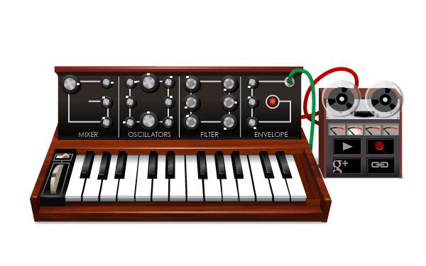 Il doodle di Google su Moog