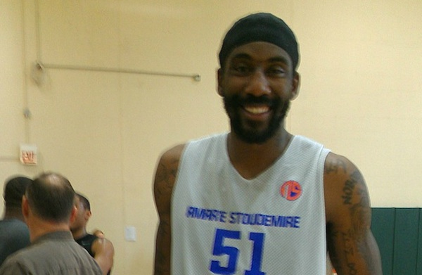 Stoudemire is a high-profile free agent who joined the ...